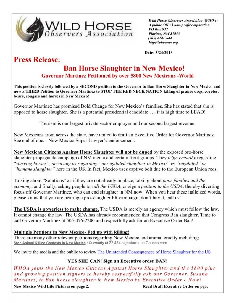 Martinez - Exec Order Slaughter Press Release-1