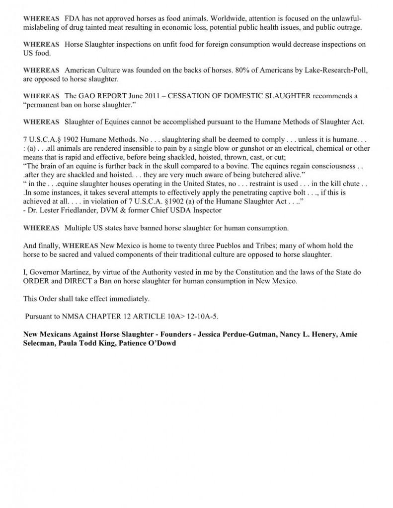 Martinez - Exec Order Slaughter Press Release-4