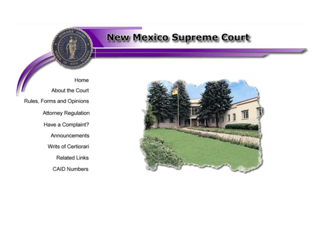 WHOA NM Supreme Court